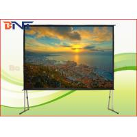 Buy cheap Portable Rear Projection Projector Screen , 150 Inch 4:3 Fast Fold Projection Screen from wholesalers
