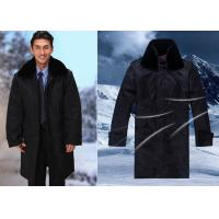 Buy cheap Winter Dark Color Security Guard Uniform Wind Resistant With Two Pieces Set from wholesalers