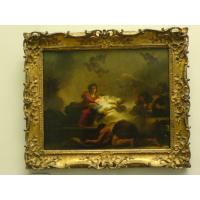 Buy cheap Handmade Oil Painting  Reproductions With Art Frame from wholesalers
