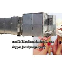 Buy cheap Industrial Crispy Ice Cream Cone Production Line|Waffle Cone Baker Machine For Sale from wholesalers