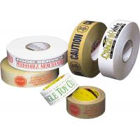 Buy cheap Acrylic Adhesive Custom Printed Packing Tape , BOPP Packing Tapes from wholesalers