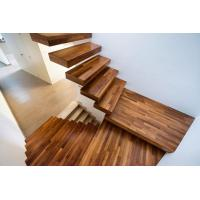 Buy cheap Customized Floating Staircase with Invisible Stringer Straight Stairs and Glass Railing from wholesalers
