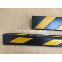 Buy cheap Garage Wall Reflective Molded Rubber Products , Soft Rubber Corner Protectors from wholesalers