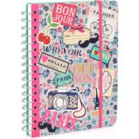 Buy cheap Customized Paper Note books,Kraft spiral notebook,Leather Cover Paper Notebook from wholesalers