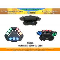 Buy cheap Triangle Kaos DJ Rotating Head Light Spider 4 in 1 RGBW 60 - 150 Degree from wholesalers