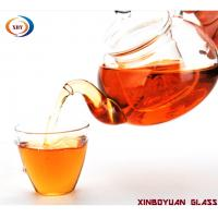 Buy cheap Heat the glass inside to filter and make the tea pot set from wholesalers
