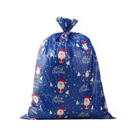 Buy cheap Christmas Holiday Design Colorful Plastic Gift Wrap Bags Jumbo / Giant / X Large With Tag from wholesalers
