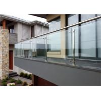 Buy cheap Prima House Stainless Steel And Glass Balustrade Strong And Classical , CE Approved from wholesalers