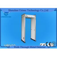 Buy cheap UB500 6 Zone Led Display Arch Door Metal Detector Body Scanner For Winter Olympic from wholesalers