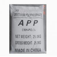 Buy cheap halogen free Ammonium polyphosphate used for fiber,wood and rubber from wholesalers