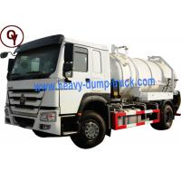 Buy cheap 290HP OEM 6 Wheel Stainless Steel Water Truck with Level Sensor from wholesalers