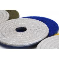 Buy cheap Fast Change Diamond Polishing Pads , 4 Dry Concrete Polishing Pads Extremely Long Life from wholesalers
