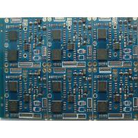 Buy cheap 6 Layer Multilayer PCB Manufacturing and Assembly Blue Mask Gold PWB from wholesalers