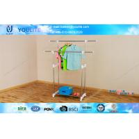 Buy cheap Foldable Indoor Outdoor Clothes Drying Rack , Commercial Clothes Display Racks from wholesalers