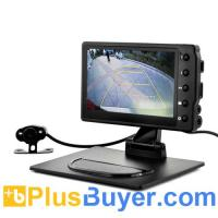 Buy cheap Car Black Box DVR with Wireless Reversing Camera (1080p HD, 4.3 Inch) from wholesalers