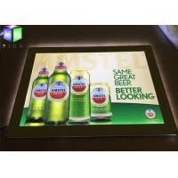 Buy cheap LED Lightbox Display , Indoor Wall Mounted Crystal LED Light Box For Beer Sign from wholesalers
