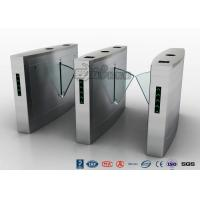 Buy cheap Fingerprint Reader Turnstile Barrier Gate , Acrylic Flap Barrier Turnstile from wholesalers