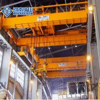 Buy cheap Double Beam Casting 10T Span 28M Steel Plant Crane from wholesalers
