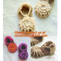 Buy cheap Baby Boy Girl Infant Knit Shoes Handmade Crochet Booties from wholesalers