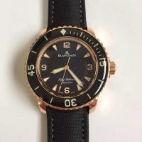 Buy cheap Blancpain FIFTY FATHOMS 5015-3630-52 Rose Gold Men Watches from wholesalers