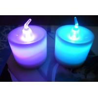 Buy cheap variety of colors changing LED tea light candle with remote control from wholesalers