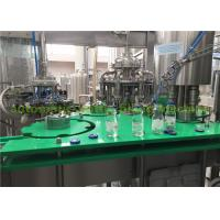 Buy cheap Complete Orange Juice Glass Bottle Filling Machine / Hot Fill Bottling Equipment product