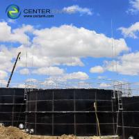 Buy cheap Glass Fused To Steel Grain Storage Silos 30000 Gallon Water Storage Tank Glass Lined Panel from wholesalers