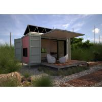 Buy cheap Prefab Modified Steel Shipping Containers Renovated House Design from wholesalers