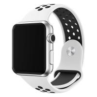 China Sport Smartwatch Band Compatible With Apple Watch 38mm - 42mm Length Soft Silicone Material on sale