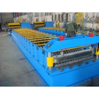 Buy cheap Galvanized Metal Roof Panel Roll Forming Machine , Glazed Tile Roll Forming Machine  from wholesalers
