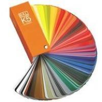 Buy cheap German Ral k5 color cards for fabric product