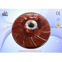 Buy cheap Metal 550DT - A75 Pump Closed  Impeller With 5 Vanes from wholesalers