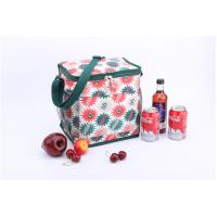 Buy cheap Promotional beautiful flower printing lunch bag insulated with Zipper Design product