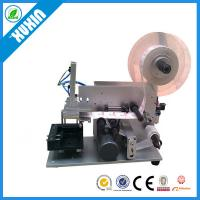 Buy cheap Semi-automatic Flat Labeling Machine X-60; Flat labeling machine for carton; flat glass bottle; Square bottle from wholesalers