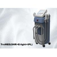 SHR Hair Removal Machine Vertical 3Handles E-light Machine SHR+E-light+IPL