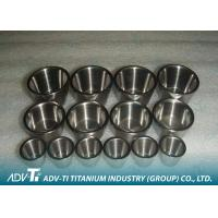 Buy cheap Customized 99.9% Pure Titanium Precision Parts GR1 Crucible Good Corrosion Resistance from wholesalers