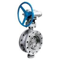 Buy cheap API Cast Steel Butterfly Valve / High Temperature Butterfly Valves D343H from wholesalers