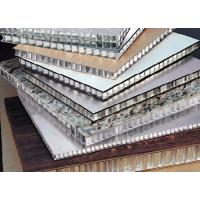 Buy cheap High Class honeycomb structural panels , metal facade panels construction materials from wholesalers