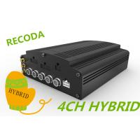 Buy cheap Hard Disk SD Card 4 CH hd blackbox car dvr , vehicle camera recorder AHD HYBRID product