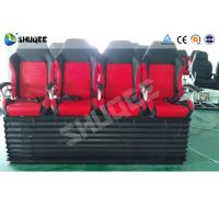 Buy cheap Hydraulic 4DOF Motion Theater Chair With  Push Back /  Leg Tickle Effect product