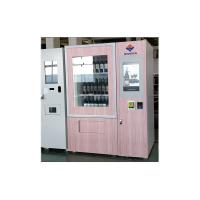 Buy cheap 24 Hours Touch Screen Wine Vending Machine Self Service For Restaurant / Stadiums from wholesalers
