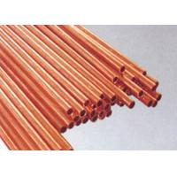 Buy cheap JIS H3300-2006 standard red seamless copper tube 1m 2m 3m 6m as required from wholesalers