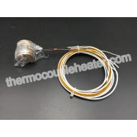 Buy cheap Brass Coil Heaters For Hot Runner Mold  With Thermocouple And Metal Clip from wholesalers