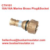 Buy cheap 10A/16A marine brass plug&socket CTH101 high current brass electrical plug in bulk from wholesalers
