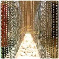 Buy cheap Metal bead curtain hotel room curtain from wholesalers
