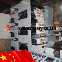Buy cheap Three Colors Label Prinitng Machine Stick to Bottle from wholesalers