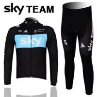 Buy cheap cycling wear bicyle jersey long sleeve sets from wholesalers