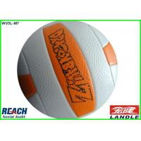 Buy cheap Custom Printed 20cm Official Volleyball Ball / Machine Sew Volleyball Beach Ball from wholesalers