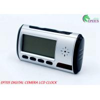 Buy cheap Long Time Recording Alarm Clock Hidden Camera Wifi , 1080P Spy Clock Ip Camera  from wholesalers