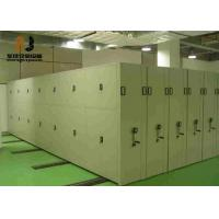 Buy cheap Anti-tilt mechanism Mobile Archive Shelving Systems For Library / School from wholesalers